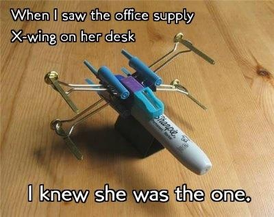 Office supply X wing  DOL!!