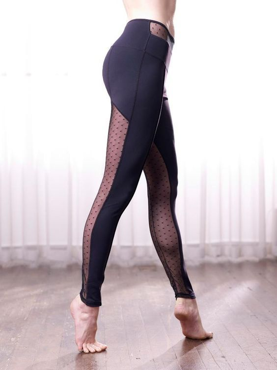 Yoga Leggings via Fitness Apparel