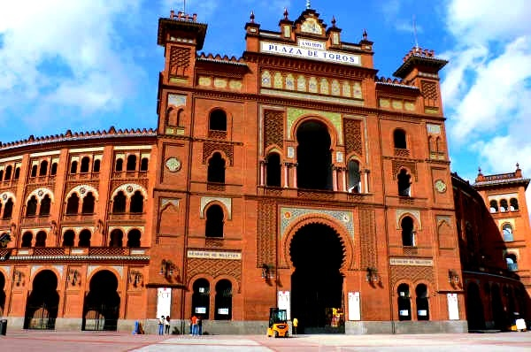 "Las Ventas  ""Madrid, España"" - The third biggest bull ring in the world and the biggest in Spain. Had a tour here for 9 Euro."