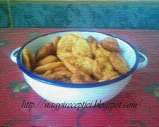 Ez most sikerült :): Krumplis pogácsa olajban sütve
