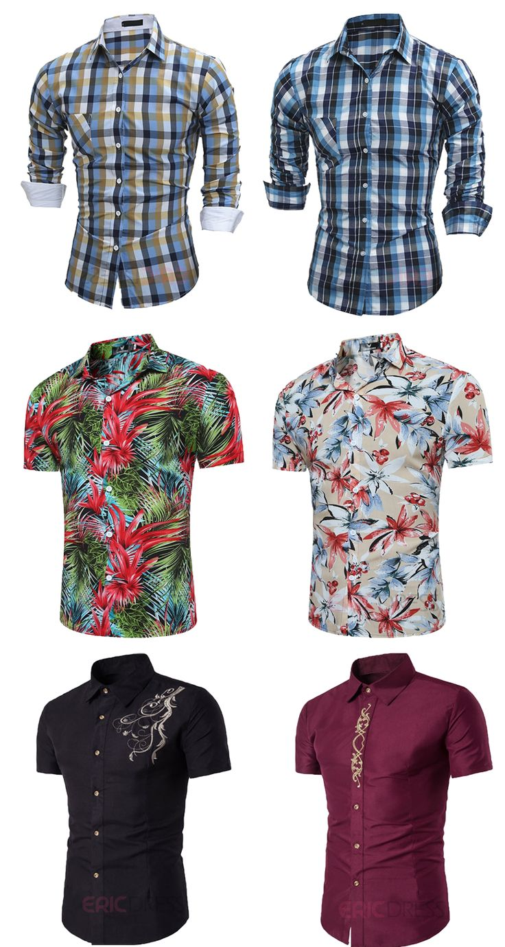 Cheap Shirts for men. Which one is your style