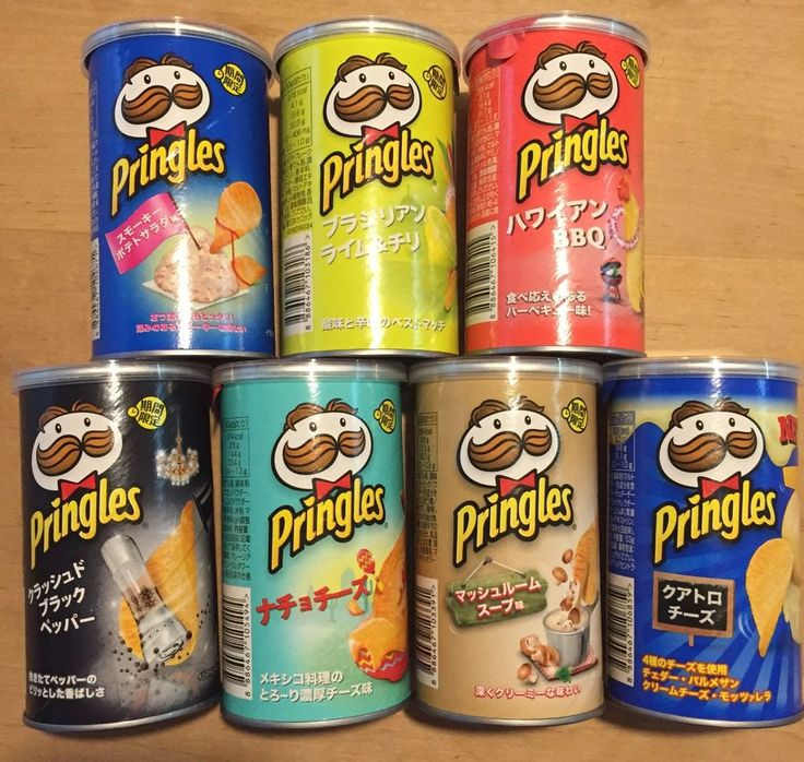 Pringles Short Bottle Japan Limited Mayo Cheese Grilled Herb Chicken Etc