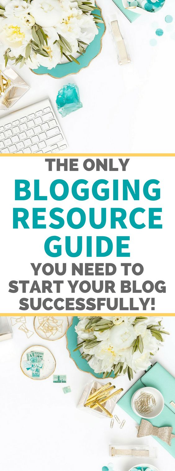 Blogging for money. The Only Blogging Resource Guide You Need To Start Your Blog Successfully. #blog #blogger #blogging #bloggintips