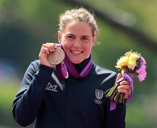 9 agosto - Bronzo - Nuoto, maratona 10Km  Martina Grimaldi