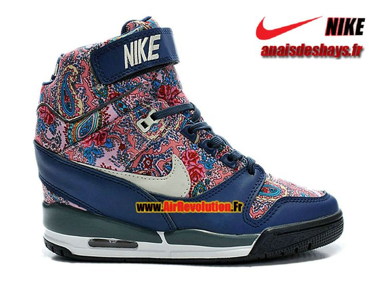 Boutique Officiel Nike Air Revolution Sky Hi Liberty London QS Marine arsenal/Brun vachette/Noir/Marine 632181-402
