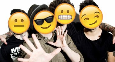 QUIZ: Can you guess these Fall Out Boy songs by their emoji lyrics? I got them all right!