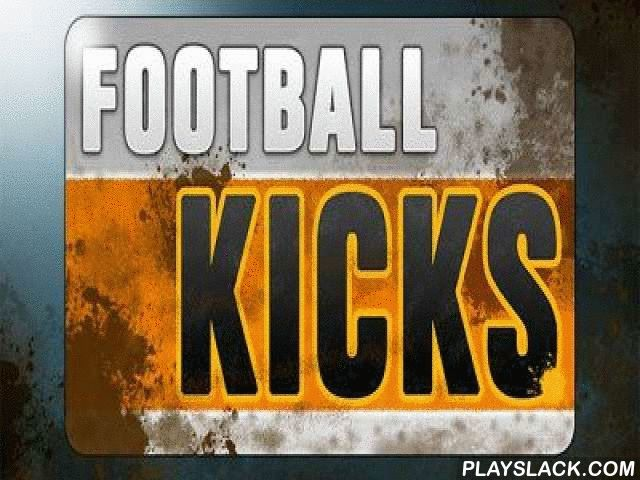 "Football Kicks  Android Game - playslack.com , contact blow Football - an imitator of a penalty and penalty kicks in a zone of the competitor.4 methods: teaching , passageway mean, mean of goals and time game. In passageway mean you will have only 1 try to attain a goal, no misses. But you can gain 3 more lives, attaining  under a beam or into ""nine"". mean of goals- you should show all your abilities. After all it is essential to pass further to transport down all targets, from the enormous…"