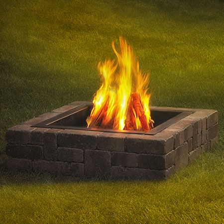 Rockwood Victorian Fire Ring | WoodlandDirect.com: Outdoor Fireplaces: Fire Pits - Wood
