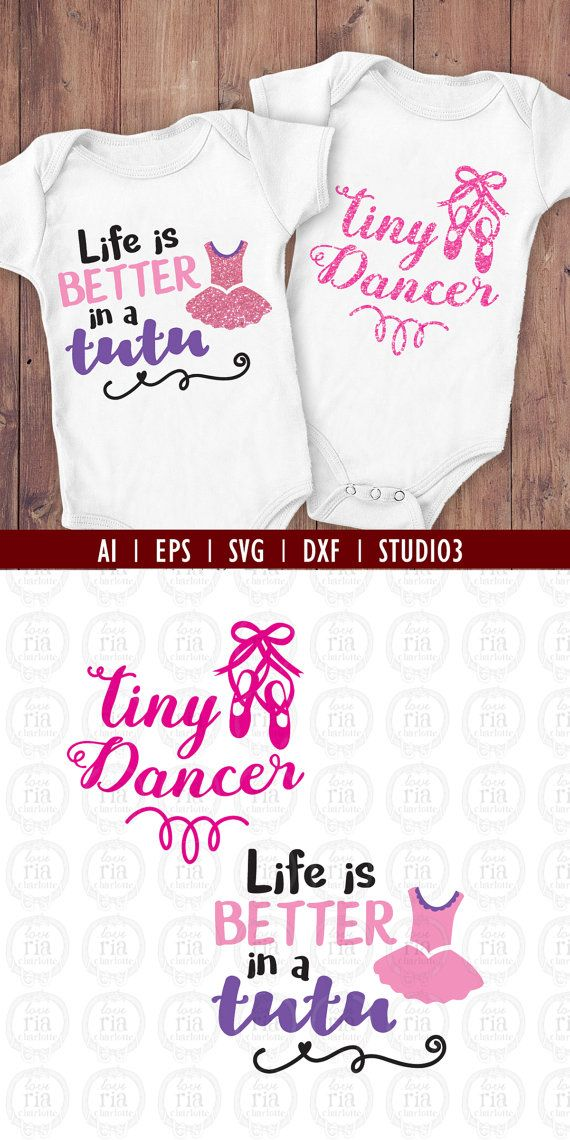 Tiny dancer Life is better in a tutu girl by LoveRiaCharlotte