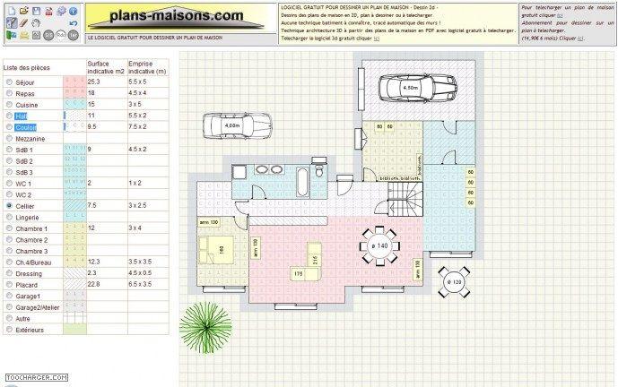 25 melhores ideias sobre plan maison gratuit no pinterest - Creation plan maison ...