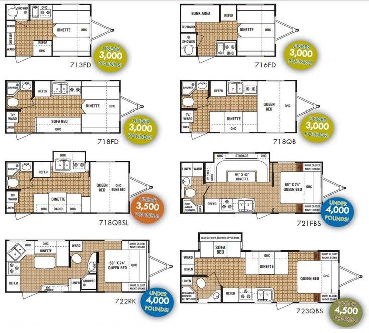 Flagstaff Rv Trailer Floor Plans