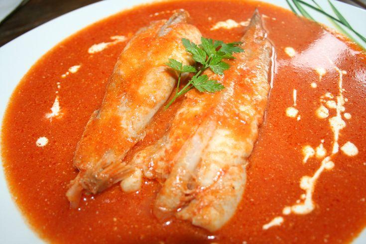 Sauce armoricaine pour poissons