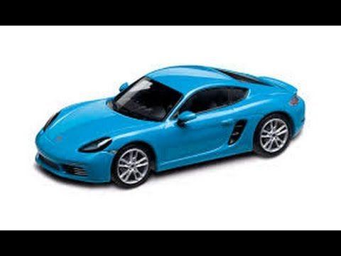 Porsche 718 Cayman S Miami Blue Trackside Driving Video Trailer