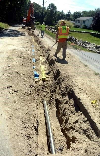 NPU fast-tracked gasline replacement this summer - For hundreds of motorists, the gas line work that snarled traffic along North Main Street and other busy city thoroughfaresduring the past several months may have seemed like a headache. Read more: www.norwichbullet... #CT #Norwich #Connecticut #Utilities #Gasline #Construction