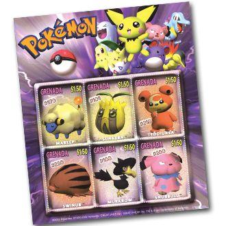 685609 Foglietto pokemon