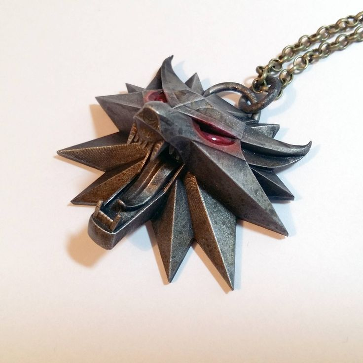 Witcher medallion by Resinseer #3dprinting