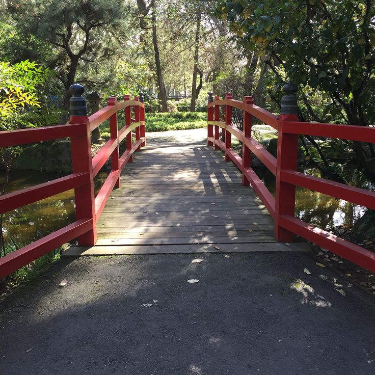 Japanese Garden At Micke Grove In Lodi California