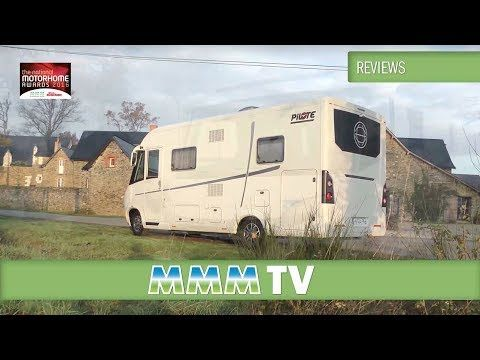 MMM TV Motorhome Review Luxury Of The Year 2016 Pilote Premium Lv6