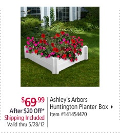 planter- over the septic tank cover?