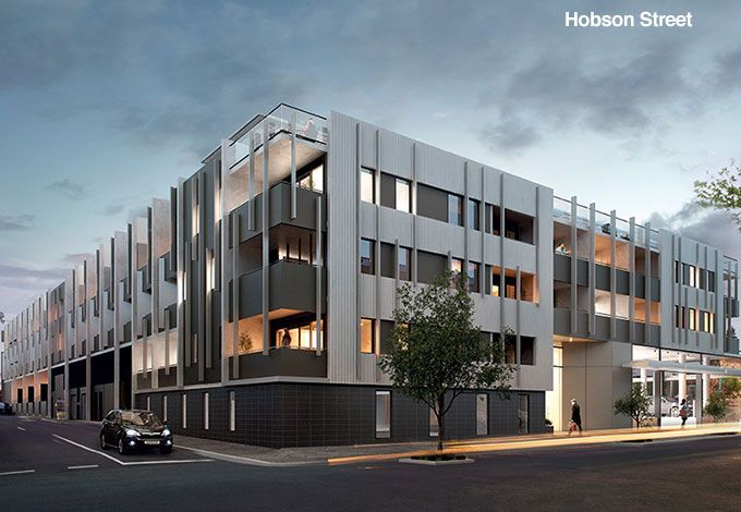 The Hawksburn, South Yarra - Hobson Street facade