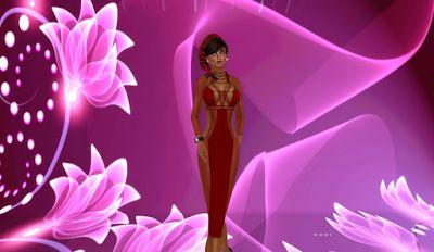 Martinas modeling Journey: Valentine Dress