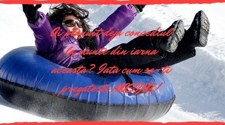 Ai planuit deja concediul la munte din iarna aceasta? Iata cum sa-ti pregatesti MASINA!