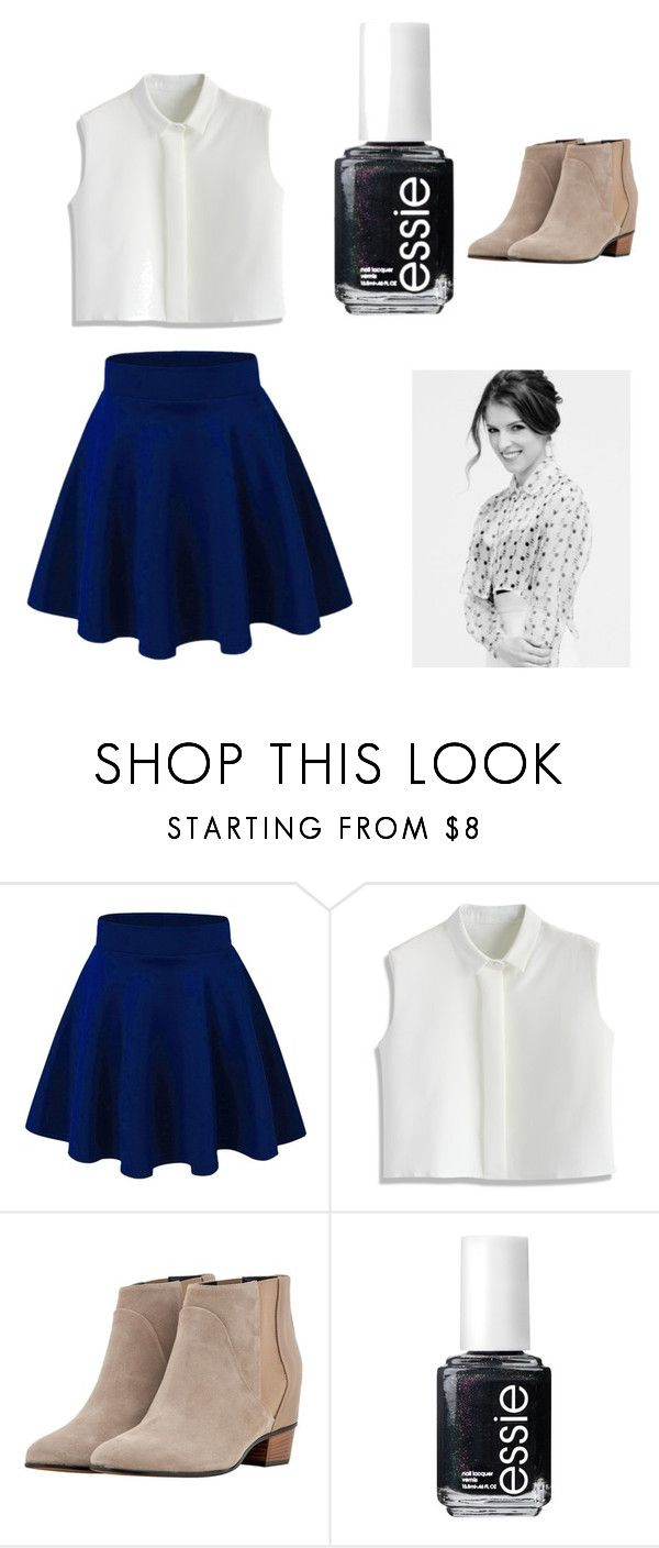 """""""All About That Anna Kendrick Life"""" by alliyahbarry ❤ liked on Polyvore featuring Chicwish, Golden Goose and Essie"""