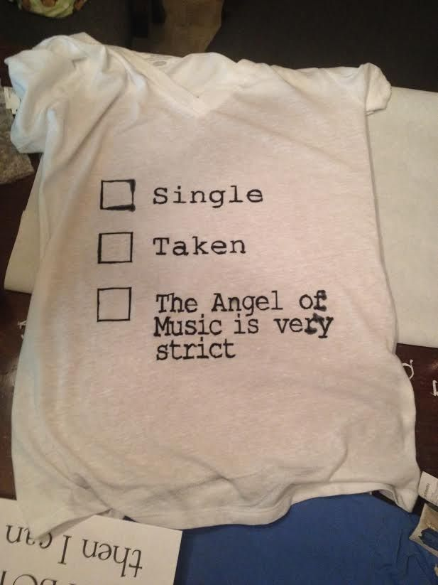 """I also made myself a Phantom shirt!# pinner. Think I need to make one myself"