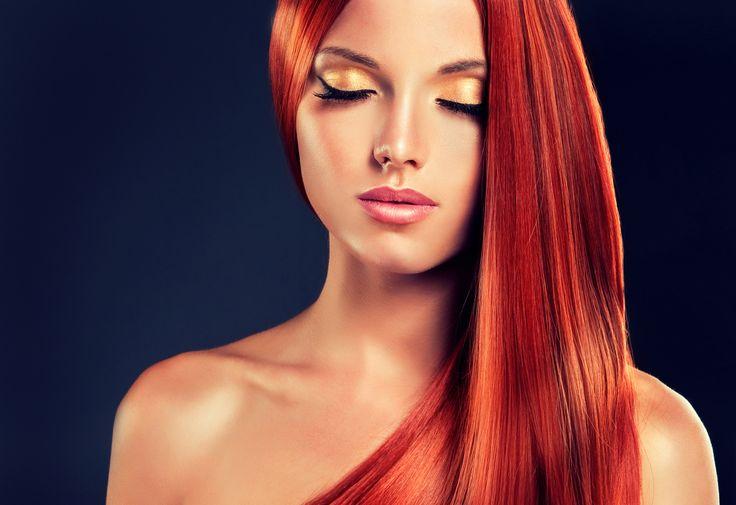 cool Гармоничный макияж глаз для рыжих волос (50 фото) — Как подобрать оттенки? Читай больше http://avrorra.com/makiyazh-dlya-ryzhix-volos-foto/