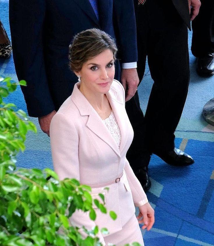 El rey Felipe VI de España y la reina Letizia, participan en la ceremonia de inauguración del VII Congreso Internacional de la Lengua Española, en San Juan (Puerto Rico)