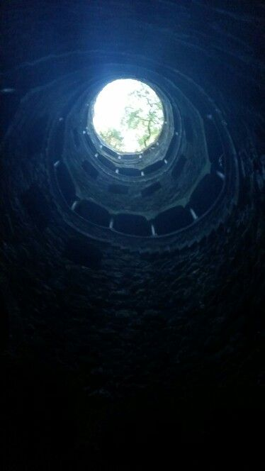 Quinta da Regaleira Freemason Initiation Well, Sintra, Portugal