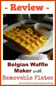 Review -- best belgian waffle makers with removable plates