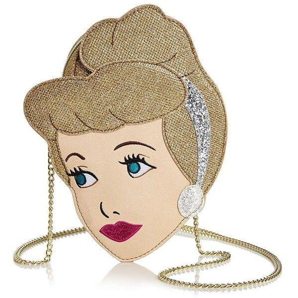 Disney | Danielle Nicole Cinderella Crossbody ($68) ❤ liked on Polyvore featuring bags, handbags, shoulder bags, handbags crossbody, multi coloured handbags, purses crossbody, shoulder handbags and purse shoulder bag