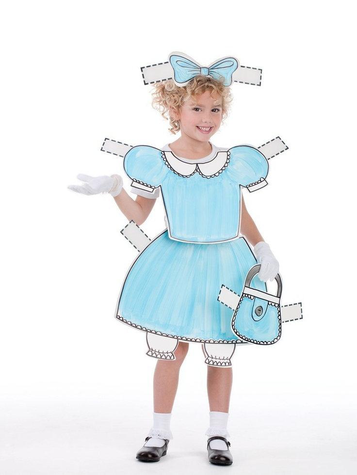 Cute idea for a Halloween costume for little girls...