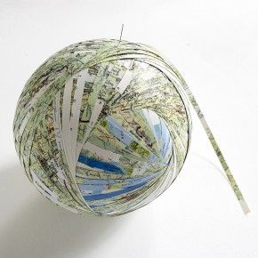 Map of the World (Central Europe) / Stefana McClure