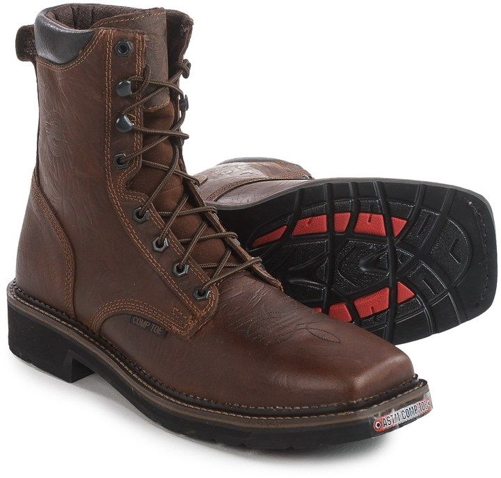 Justin Boots Composite Toe Lace-Up EH Work Boots (For Men)