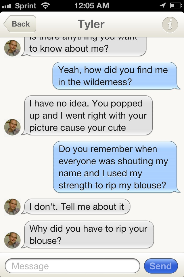 what to message on tinder