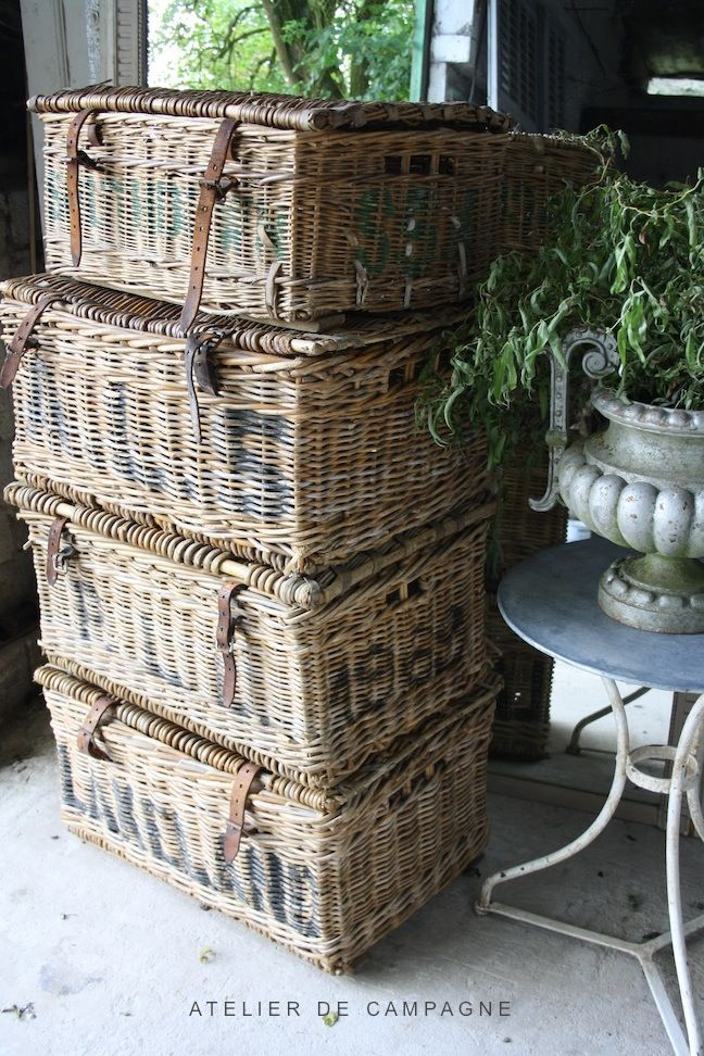Atelier de Campagne Wicker Baskets