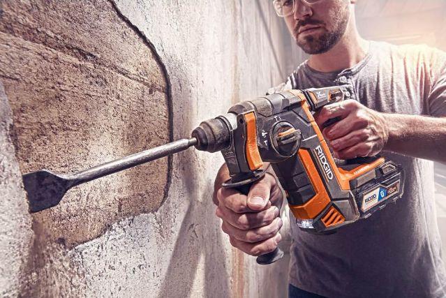 Ridgid rotary hammer drill aldi soap dispenser
