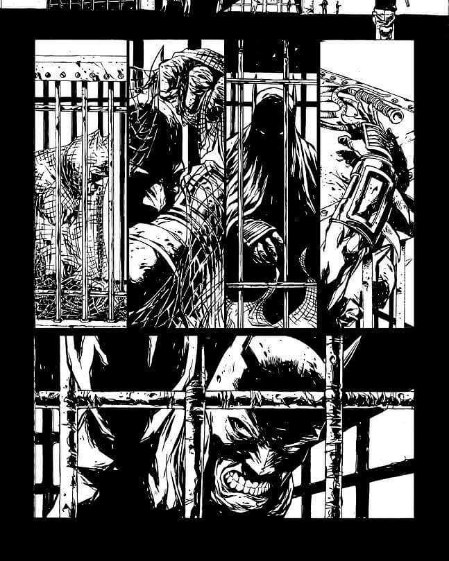 #darkknight #batman by albertoponticelli