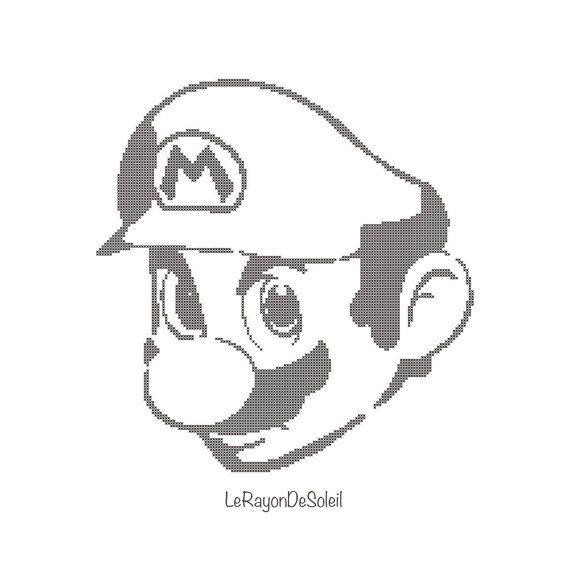 237 best Super Mario Cross stitch/Perler images on