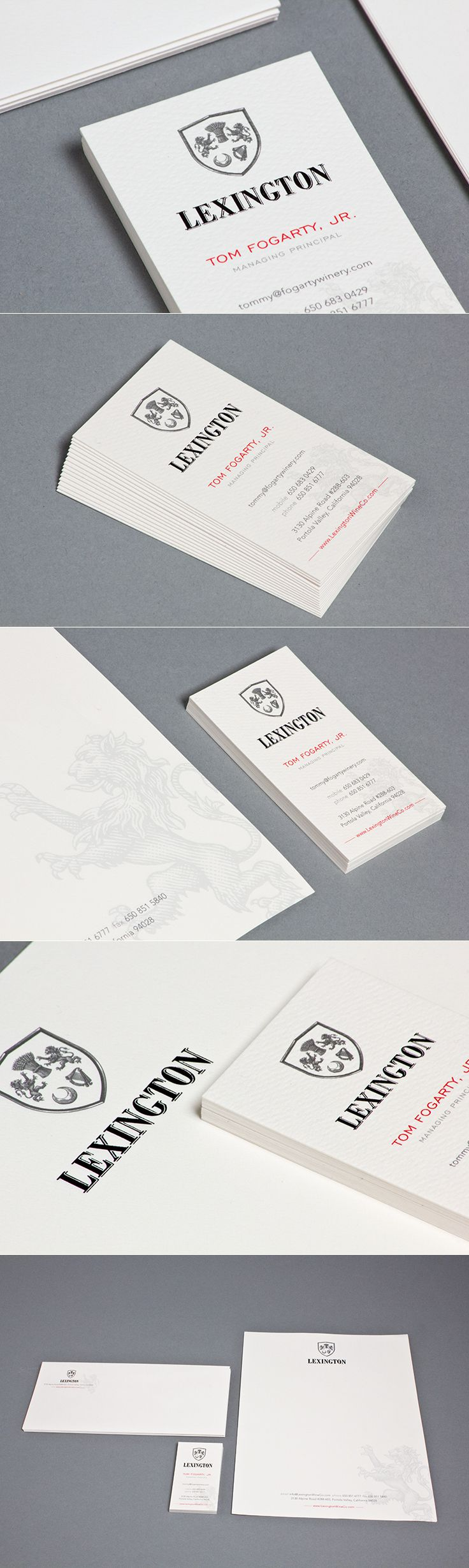 Lexington Wine Co. | Stationery | by designthis!