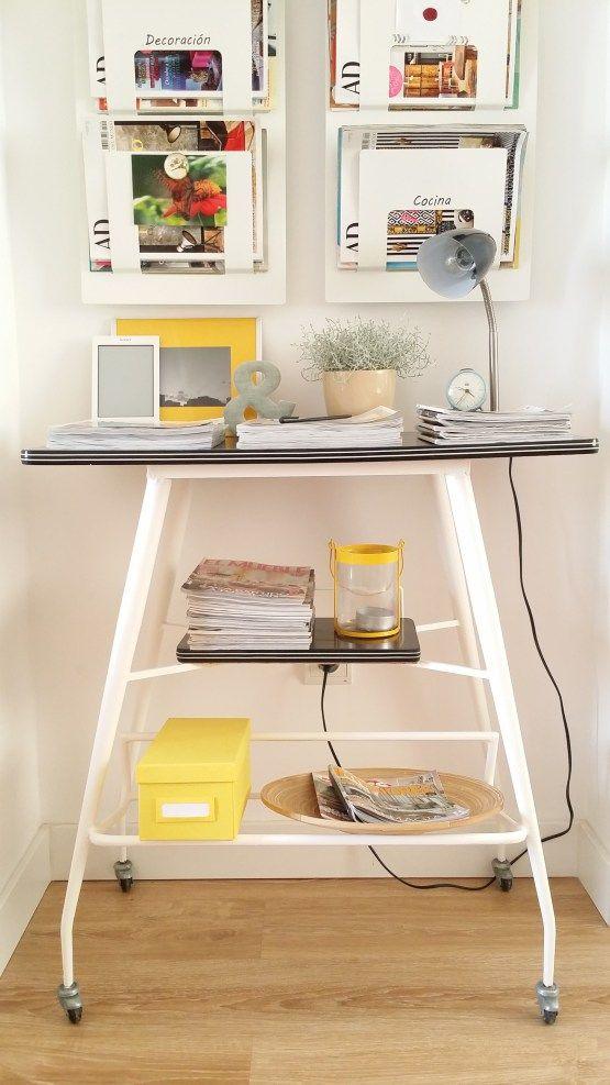 Diy mueble de tele de casi 50 a os convertido en bonito - Muebles para teles ...
