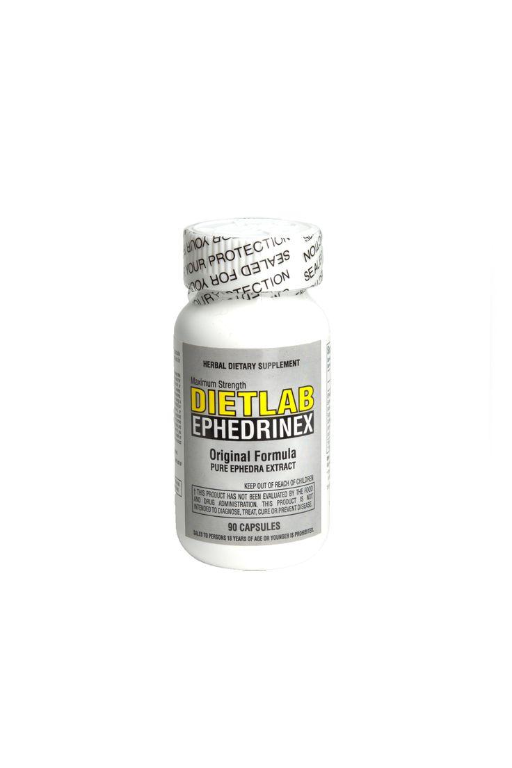 Dietlab Ephedrinex -Ephedra Extract Weight Loss Formula 90