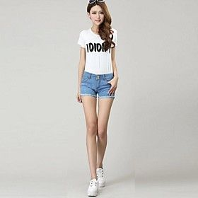 Women's Fashion Trends Summer Jeans Shorts Wholesale Korean Pencil Pants