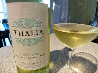 #Thalia #Sauvignon Blanc - #Vilana 2014 from PGI Crete, Greece (86 pts) #Crete #wines #peza