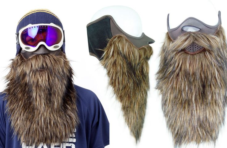 Ski like Big Foot with Beardski - Best gear and gadgets for men. The place to find cool stuff for guys.