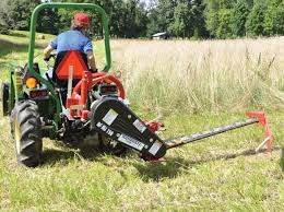 Image result for small tractor boom mower