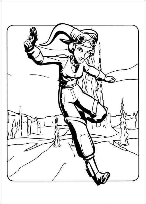 Star Wars Rebels Coloring pages 5 | Finn star wars ...