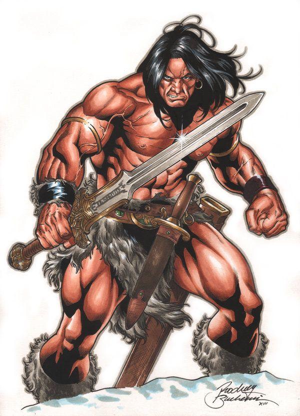 Conan Commission by Buchemi.deviantart.com on @deviantART